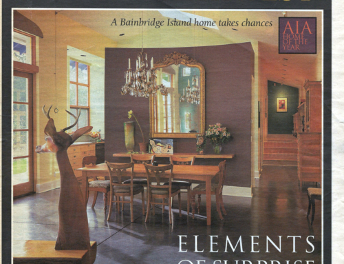 Kirkland Residence Featured in The Seattle Times, February 1999