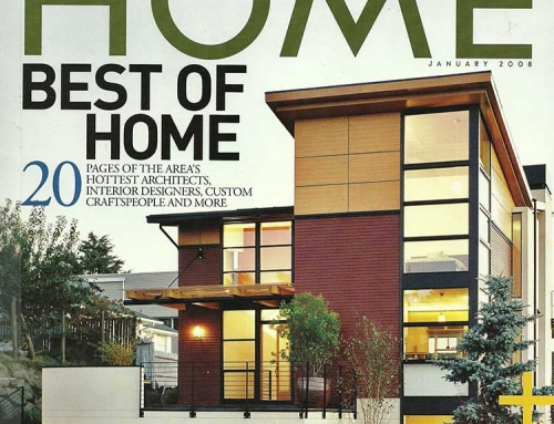 Magnolia Gardens Featured in Northwest Home, January 2008