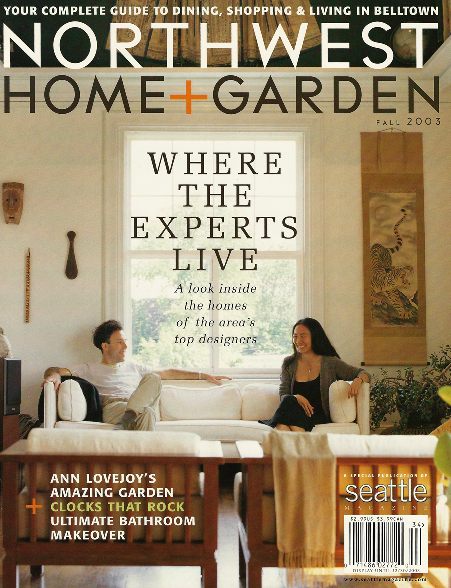 Anderson Gardens featured in Northwest Home + Garden, Fall 2003 ...