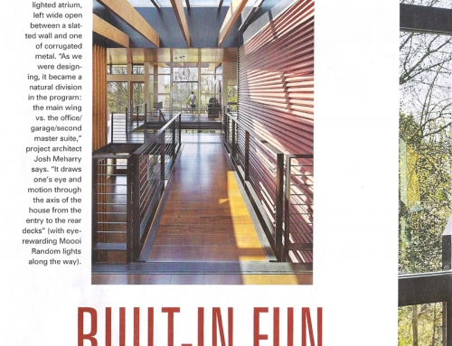 Medina Residence Featured in The Seattle Times, June 2016